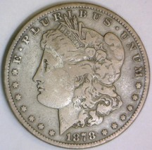1878-S Morgan Dollar; F - $48.50
