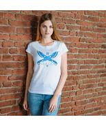 Destiny Hunter Blade Dancer Fandom games anime Women's Ladies T-shirt White - €15,16 EUR - €19,38 EUR