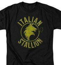 The Italian Stallion Rock Balboa Philadelphia Boxer Tee Retro 70s 80s MGM209 image 3