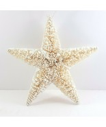 "Sisal Starfish Christmas Ornament 5.5"" Bottlebrush Nautical Tropical Chr... - $6.08"