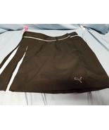 puma size 6 black skirt - $18.50