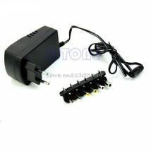Universal EU AC/DC Adaptor Plug Power Supply 3V 4.5V 5V 6V 7.5V 12V DC C... - $9.49