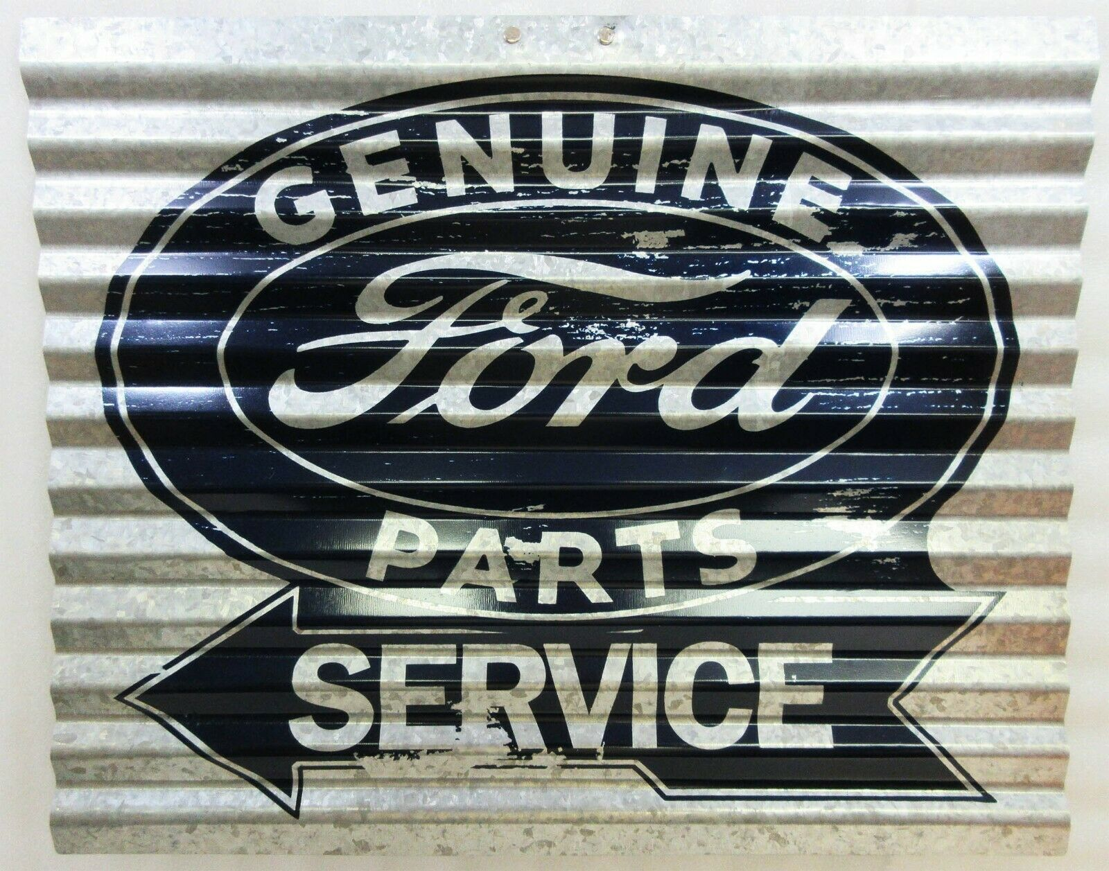 "Primary image for Ford Service Corrugated Metal Signs 15"" by 12"""