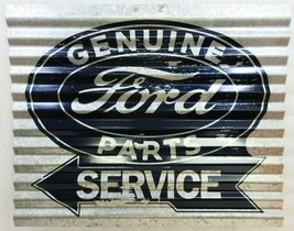 """Ford Service Corrugated Metal Signs 15"""" by 12"""" - $19.95"""