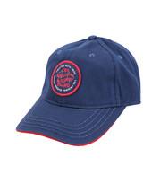 True Religion Men's Circle Patch Sports Solid Hat Baseball Strapback Cap image 2