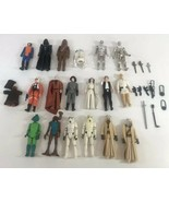 Vintage 1977 Star Wars Action Figures 3.75 With Box Lot Of 19 W/ Weapons... - $297.00
