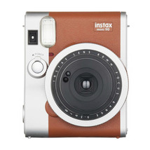 Brown FujiFilm Instax Mini 90 NEO CLASSIC Instant Photos Films Polaroid ... - $164.99