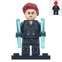 Black Widow Natasha Marvel Superhero Avengers Endgame Lego Minifigures Gift New - $2.99