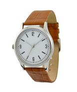 Left hand Watch White - Free shipping worldwide - £27.84 GBP