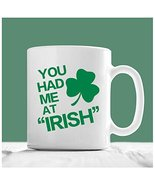 St Patrick's Day Mug, Irish Coffee Mug, Gift for Friends/Family - $14.95