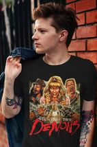 Night of the Demons T Shirt retro vintage 80s horror movie graphic tee shirt image 3