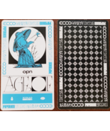 """Oneohtrix Point Never """"Age of """" Promo Card 4-3/4"""" x 2-3/4"""", new - $3.95"""