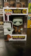 Funko Pop! Television The Munsters Herman Munster #196 Vaulted WITH PROT... - $42.08