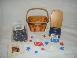 Longaberger 2001 Inaugural Basket Combo Plus Lid - $41.99