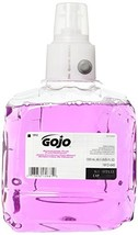 GOJO 1912-02 Antibacterial Plum Foam Hand Refill, Single Unit, 1200 mL - $28.88