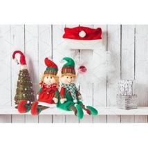 Christmas Party Decoration Posable Santas Elfs Indoor Home Kitchen Plus... - $486,93 MXN