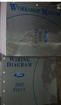 2005 Ford Focus Service Repair Shop Manual Set W Wiring Diagrams & Powertrain Bk - $241.99