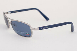 Tag Heuer Ayrton Senna 982 Silver / Watersport Blue Polarized Sunglasses 982 401 - $293.02