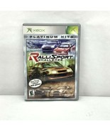RalliSport Challenge (Microsoft Xbox, 2002) Video Game, Very Good condition - $9.99