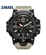 Men Military Watch 50m Waterproof Wristwatch LED Quartz Clock Sport Watc... - $21.94+
