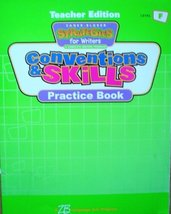 Conventions & Skills Practice Book, Level F, Teacher's Edition (Strategies for W