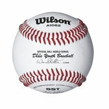 Wilson A1062 Dixie Youth Tournament Series Baseball 12-Pack, White - $56.68