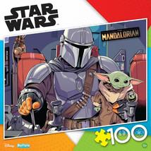 Star Wars The Mandalorian & Grogu Buffalo Games 100-Piece Jigsaw Puzzle ... - $14.98