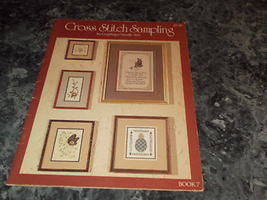 Cross Stitch Sampling book 7 By Graphique Needle Arts Monza Instructions - $2.99