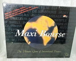 Maxi Bourse Board Game Ultimate Game of International Finance Factory Sealed - £16.39 GBP