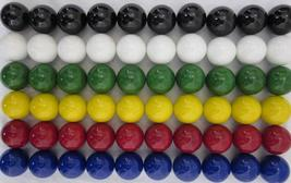 """60 LARGE 1"""" (25mm) Replacement Chinese Checker Board game Solid GLASS MA... - $52.67"""