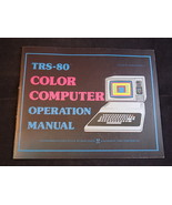 TRS-80 COLOR TANDY COMPUTER Operation Manual Instruction in EXCELLENT SHAPE - $23.65