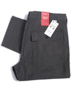 Levis Mens 502 Battalion Pant Regular Fit Straight Leg Pockets Black 329... - $24.56