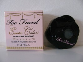 Too Faced Exotic Color Intense Eye Shadow Cop A Teal NIB - $6.92