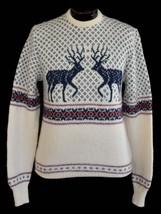 Vintage 80s Men's Nordic Design Ski Sweater Size Medium to Large - $89.99