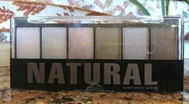 Profusion NATURAL 6 Color Powder Eyeshadow Palette Nude Taupe Applicator... - $6.92