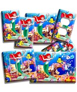ARIEL LITTLE MERMAID FLOUNDER LIGHT SWITCH OUTLET WALL PLATE ROOM BEDROO... - $8.09+
