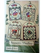"4 Seasons Medley 15 x 22"" Wall Hanging Patterns By Vaniila House #87 New - $7.91"