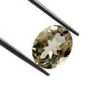 Natural Brazilian VVS Citrine Golden Yellow 3.35 ct. Oval Cut Gemstone - $18.37