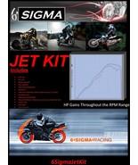 Honda CB1100R  6 Sigma Custom Performance Carb Carburetor Stage 1-3 Jet Kit - $79.50