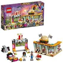 LEGO Friends Drifting Diner 41349 Building Kit 345 Piece Multicolor Race... - $23.75