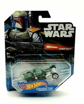 Hot Wheels 2014 Star Wars BOBA FETT Character Car - Mattel - NEW Disney - $17.64