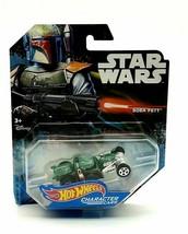 Hot Wheels 2014 Star Wars BOBA FETT Character Car - Mattel - NEW Disney - $17.64