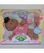 Cabbage Patch Kids Newborn Play Along Ethnic Brown Eyes Kitty Book NIB 2008 - $29.99