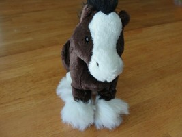 Webkinz Clydesdale Horse, no tag No Code - $3.36