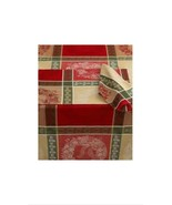 """Bardwil Holly Wreath Placemat 13""""x19"""" Set of 4 Placemats NEW - $19.99"""