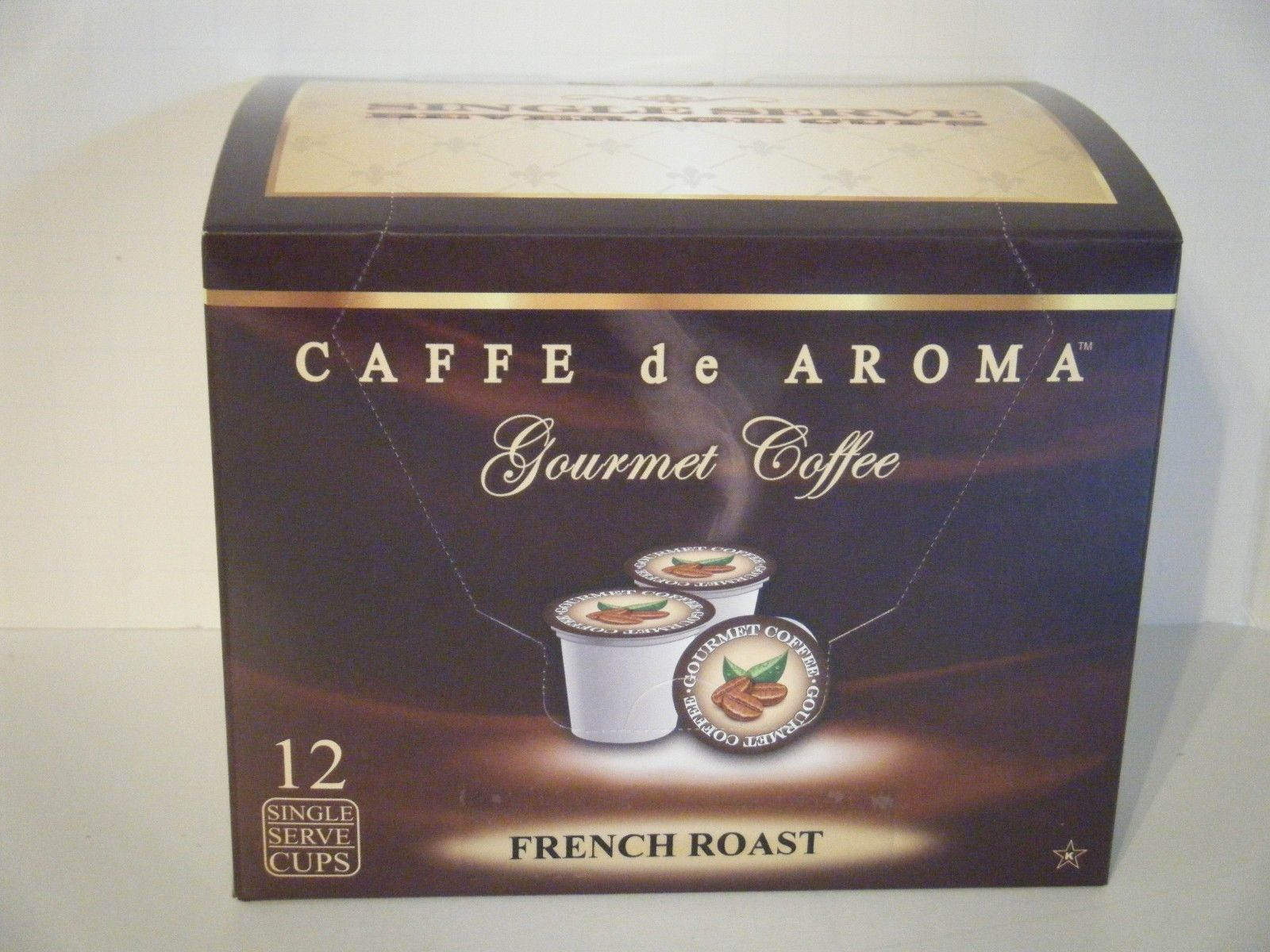 Lenier's Bold French Roast 12 Single Serve K-Cups Free Shipping OK for 2.0