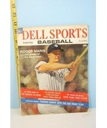 Dell Sports April 1962 Vol. 1 Roger Maris Cover Baseball Outlook Issue - $9.99