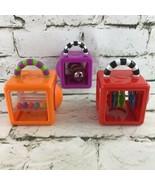 Sassy Baby Toddler Blocks Lot Of 3 Sensory Educational Stacking Bells Ra... - $11.88