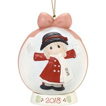 "Precious Moments""Have A Magical Holiday Season Dated 2018 Girl Ball Orna... - $26.21"
