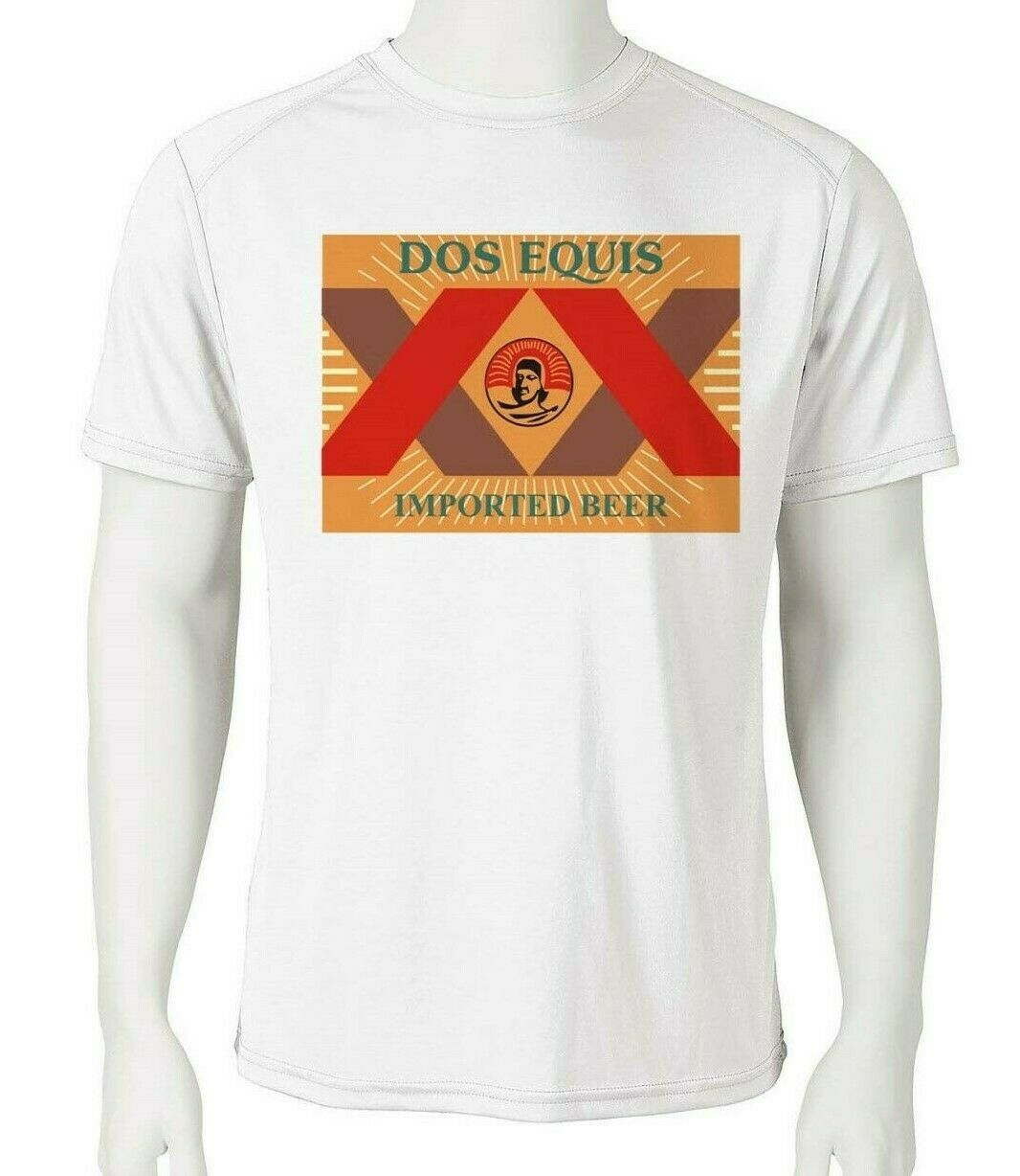 Dos equis dri fit graphic tshirt moisture wicking graphic printed active spf tee